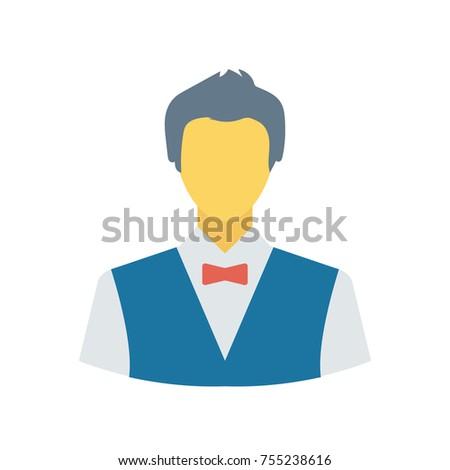 waiter sticker icon