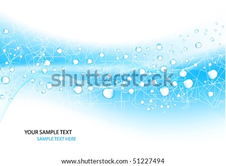 Water Design Vector Water Drop Vector Design