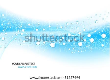 Water Design Vector Water Drop Vector Design