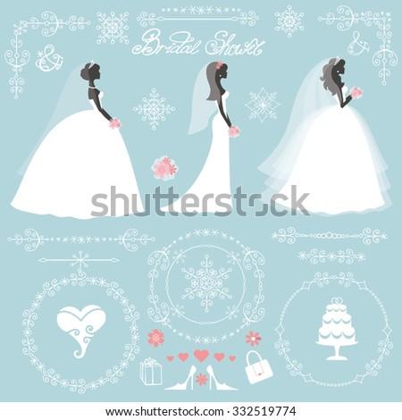 weddingbride in different