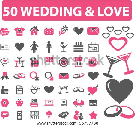 50 wedding u0026ampamp love signs vector 56797738 shutterstock love signs 450x421