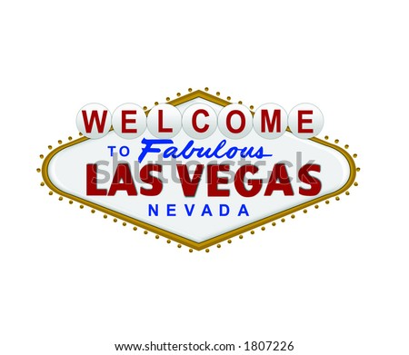 Sign vector for the city of las vegas welcome to las vegas sign vector pronofoot35fo Choice Image