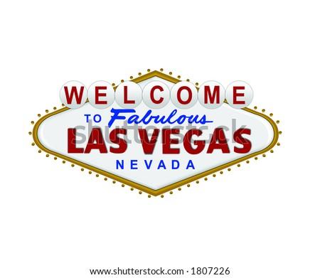 sign vector for the city of las vegas rh vecteezy com welcome to las vegas sign vector las vegas welcome sign vector