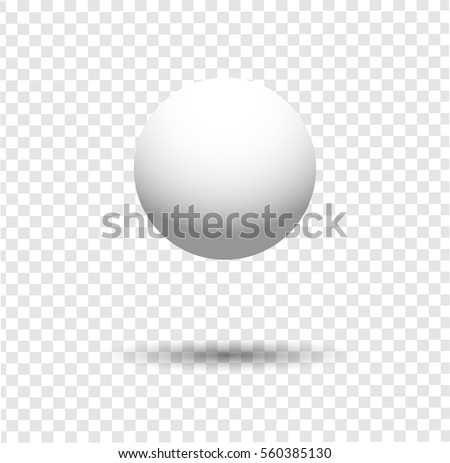 Stock Photo  white ball
