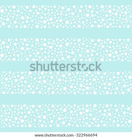 wide streaks made of spots or