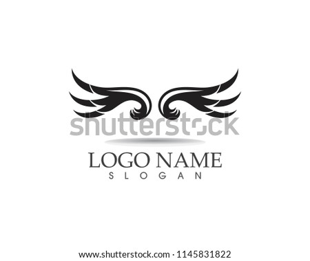 Wings icon and symbol vector illustration