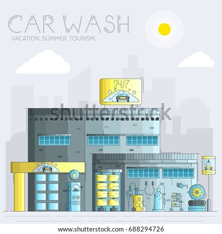 24 7 working car wash with