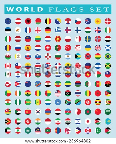 world Flags icon, vector illustration #236964802