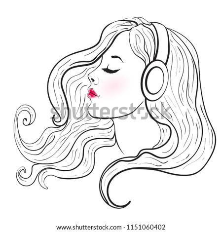 yang beautiful women with long