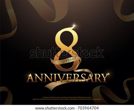 8 year anniversary celebration...