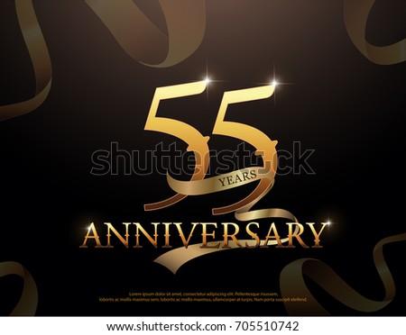 55 year anniversary celebration ...