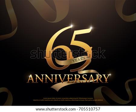 65 year anniversary celebration ...