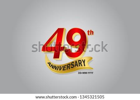 49 year anniversary golden