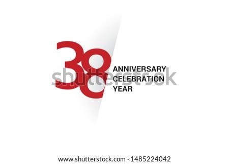 38 year anniversary  minimalist