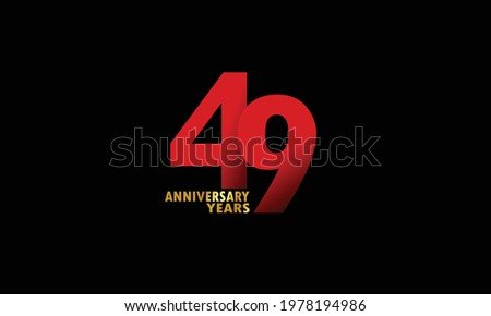 49 year anniversary red color