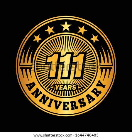 111 years anniversary