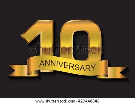 Anniversary vector banners download free vector art stock