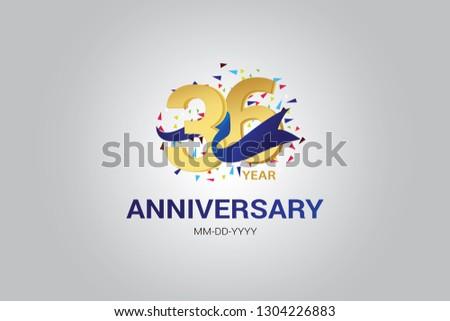 367 years anniversary blue