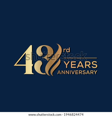 43 years anniversary