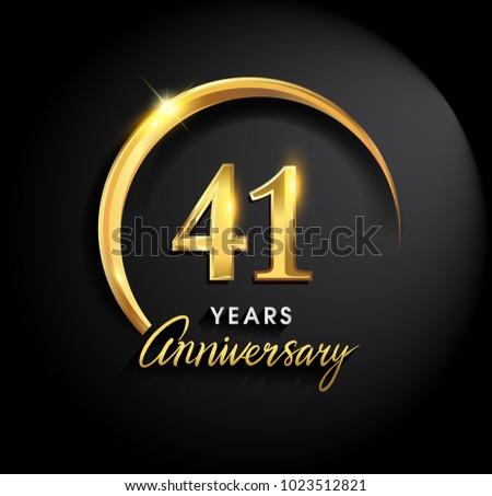 41 years anniversary