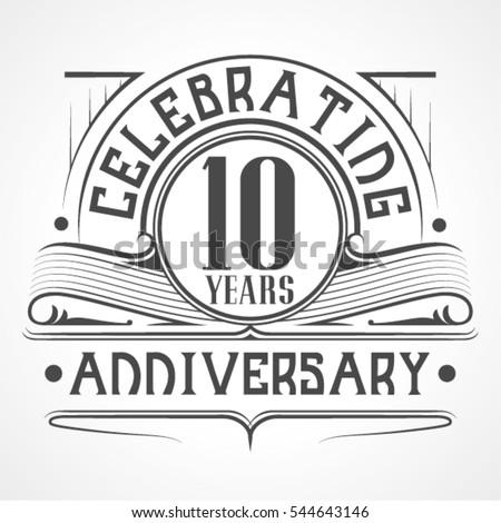 10 years anniversary...