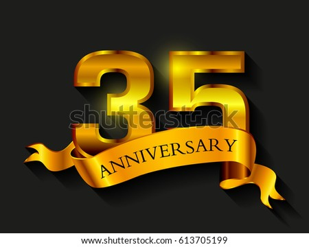 35 Years Anniversary Celebration Design35th Anniversary Logoctor
