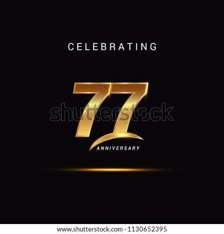 77 years anniversary