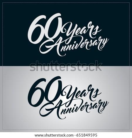 60 years anniversary...