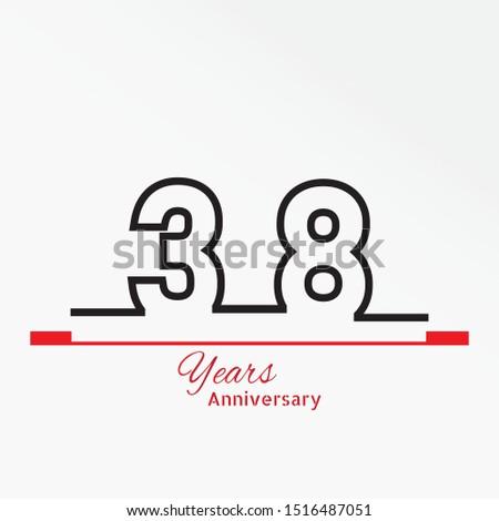 38 years anniversary