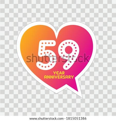 59 years anniversary