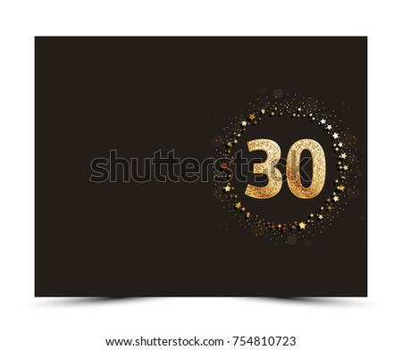 Beautiful 10 Year Anniversary Illustration Download Free Vector