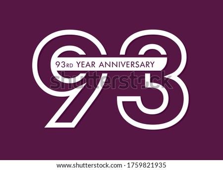 93 years anniversary image