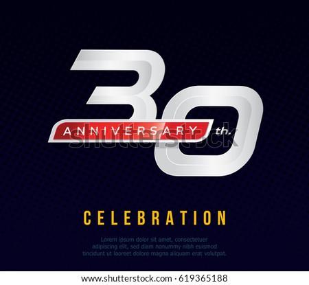 30 years anniversary invitation ...