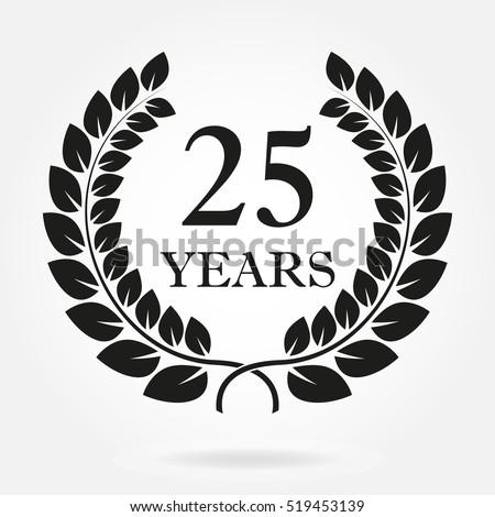 25 years. anniversary or...