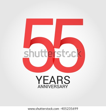 55 years anniversary  signs ...
