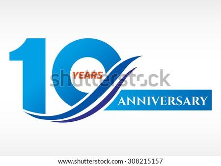 anniversary logo vector download free vector art stock graphics