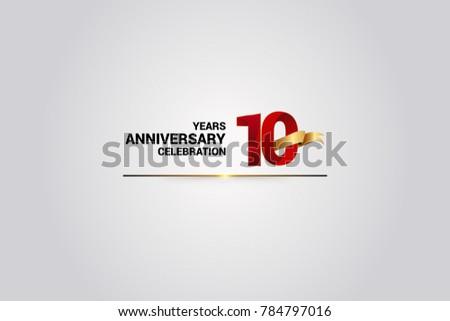 Anniversary vector number download free vector art stock