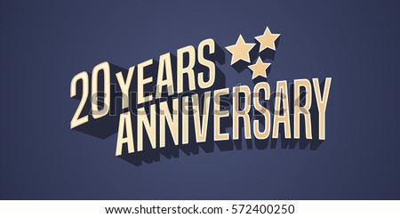 Years anniversary banner vector ten tenth celebration