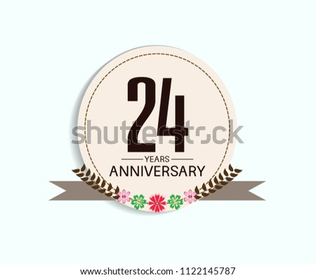 24 years anniversary with