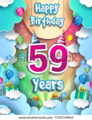59 years birthday celebration