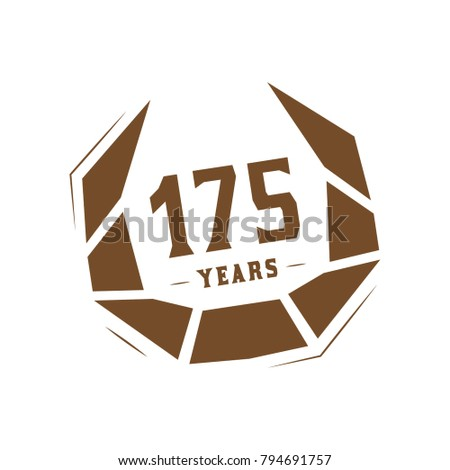 175 years design template