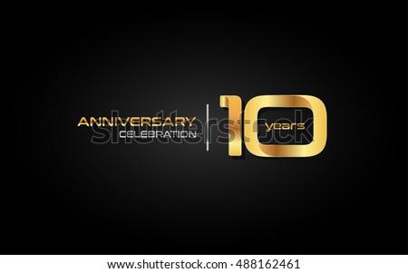 Years anniversary vector download free vector art stock