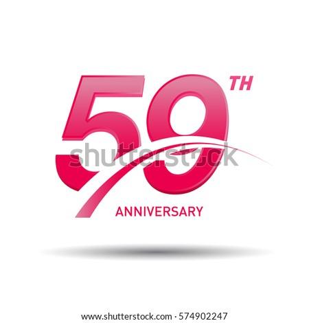 59 years pink anniversary