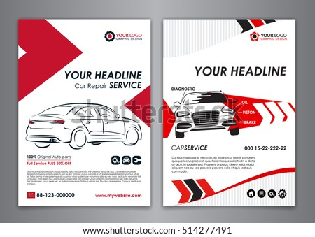Auto carros images for Car brochure template
