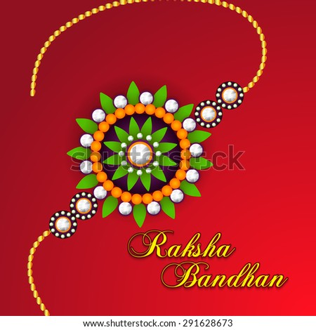 A awesome greeting card for indian festival raksha bandhan a awesome greeting card for indian festival raksha bandhan background with beautiful rakhi m4hsunfo
