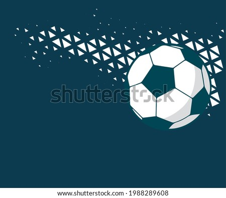 A ball is a round object with various uses. It is used in ball games, where the play of the game follows the state of the ball as it is hit, kicked or thrown by players Stockfoto ©