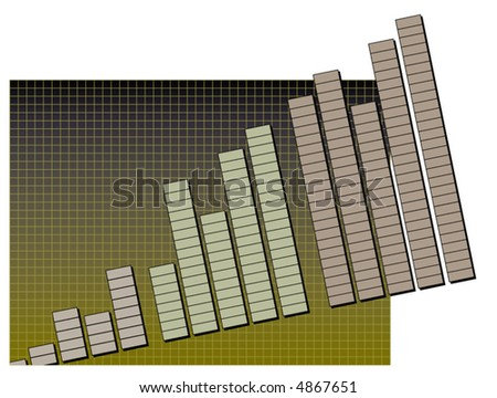 a bar chart breaks out of its grid background