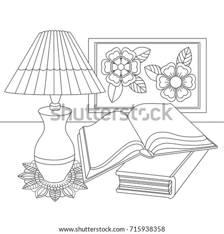 a beautiful antique lamp with a