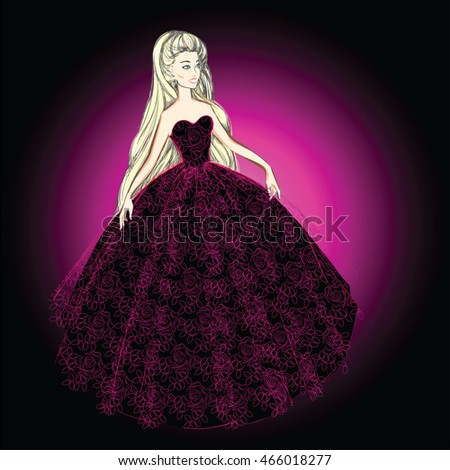 a beautiful blonde woman in a