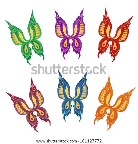 A beautiful butterflies